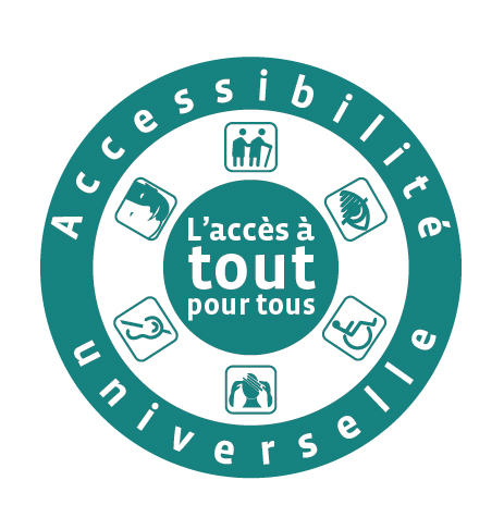 Pictogramme accessibilité universelle